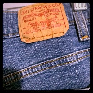 Levi jeans size 12 inseam 40